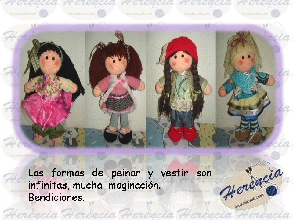 Muñecas Amigurumi (Parte 1) - YouTube