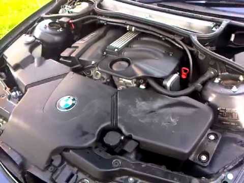 bmw e46 3 series n46 engine tickover idle rpm sound 318i. Black Bedroom Furniture Sets. Home Design Ideas