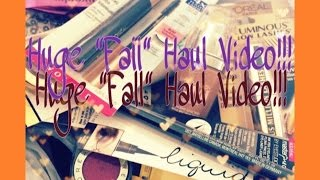 HUGE Fall Haul 2014:  Part 2 Thumbnail