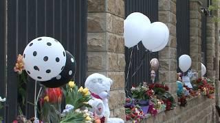 Акция памяти жертв трагедии в Кемерово. Абхазия, г. Сухум.