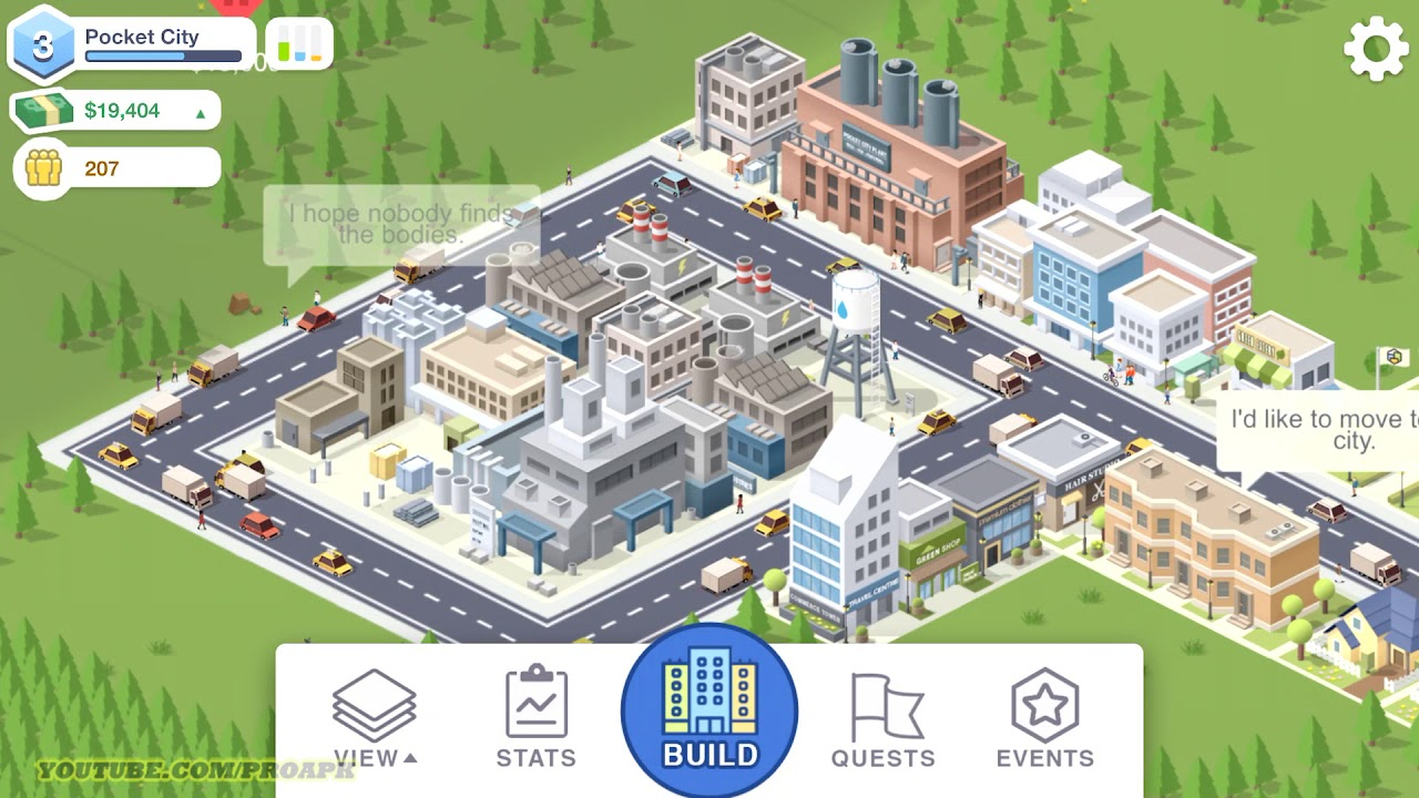 pocket city gameplay android ios youtube