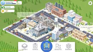 Pocket City Gameplay Android / iOS