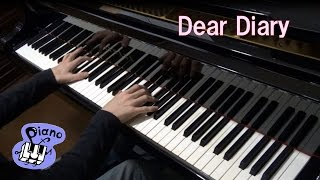 安室奈美恵〈Dear Diary〉 耳コピ 【ピアノでれっつ♪】