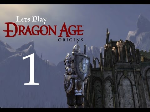 Let's Play DRAGON AGE: Origins Ultimate Edition -Modded- Part 1 - A Bad Beginning