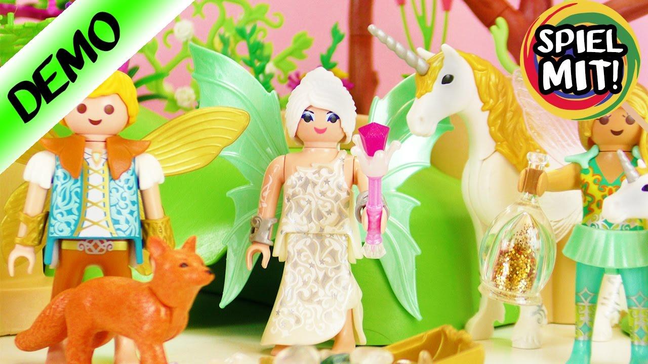 Playmobil Magischer Feenwald Mit Einhörnern Und Edelsteinen