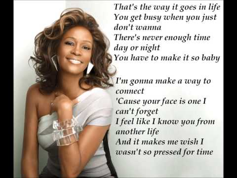 Whitney Houston: Call You Tonight lyric
