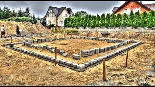 Wyzwanie budowy małego domu parterowego w 50 dni. Odc. 5 Jak wyznaczyć pierwszą warstwę ścian?