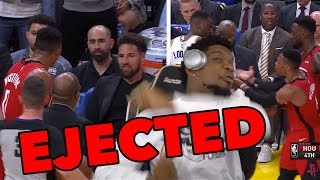 Russell Westbrook EJECTED! Wants to Fight the WHOLE Warriors Team