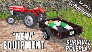"""NEW"" EQUIPMENT | Survival Roleplay | Farming Simulator 17 - Letton Farm - Ep 18"
