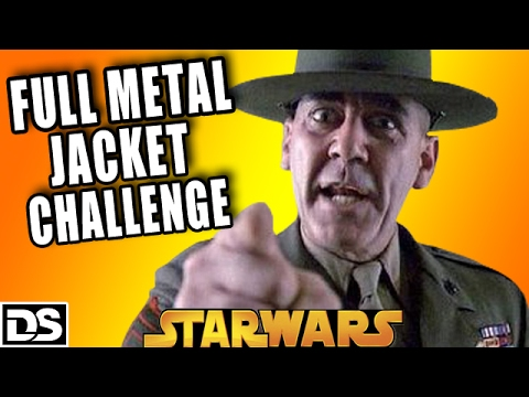 full metal jacket only blaster challenge let 39 s play star. Black Bedroom Furniture Sets. Home Design Ideas