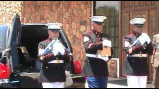 USMC Sgt. Zachary J. Walters KIA Homecoming