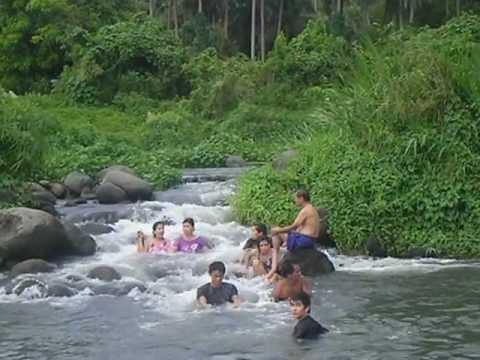 Sa ilog ng Nagcarlan Laguna