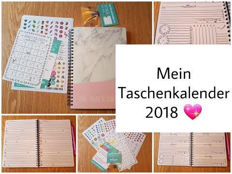"""[vorstellung]-kalender-für-2018-selbst-designt-von-""""mein-taschenkalender"""""""