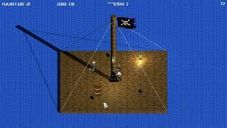 PAF ! Pirate Arena Fighting (Gamecodeur Game Jam #18)