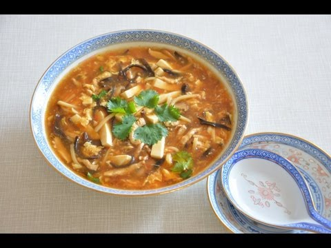 Chinese Hot And Sour Soup, 酸辣湯