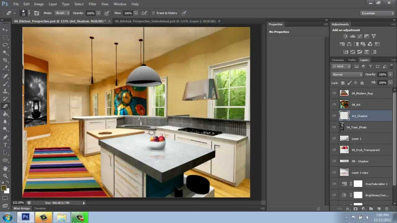 how to get the paint bucket on photoshop cs6