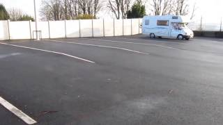 Motorhome aire in Le Havre, Seine-Maritime, France
