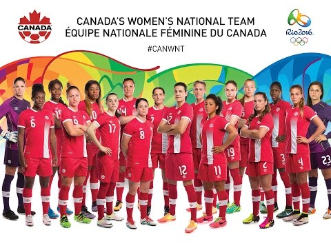 Canadian Women's National Soccer Team Nominated for Rio 2016
