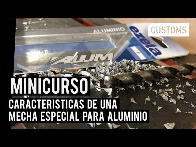 Mecha o broca para aluminio | CUSTOMS