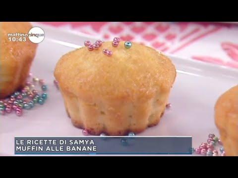 Mattino Cinque Muffin Alle Banane Di Samya Youtube