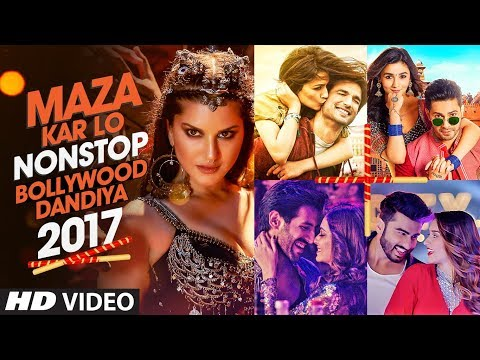 Exclusive: Maza Kar Lo Non Stop Bollywood Dandiya 2017 | T-Series