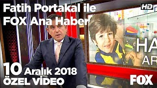 Umutcan yürümek için  resmi gazete'yi bekliyor... 10 Aralık 2018 Fatih Portakal ile FOX Ana Haber