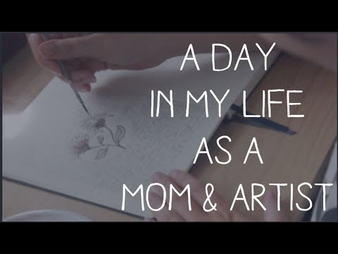 a-day-in-my-life-as-a-mom/artist---studio-vlog
