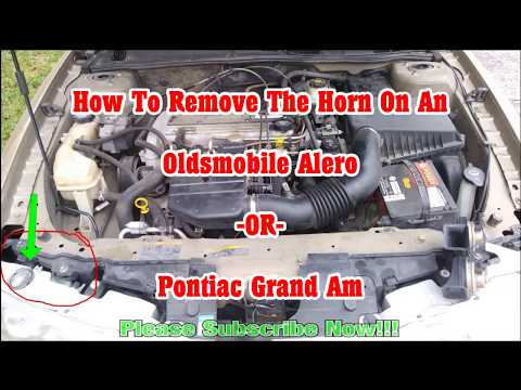 How To Fix Replace Repair Horn On Oldsmobile Alero Pontiac Grand Am