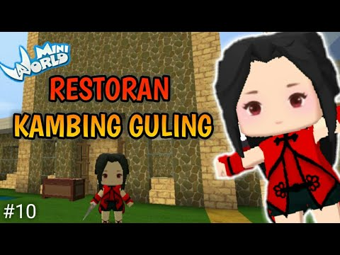 [PART 2] Membuat Restoran Kambing Guling | Mini World Survival Indonesia #10