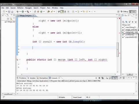 how-to-program-merge-sort