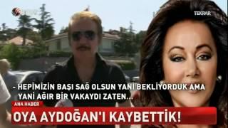 Oya Aydoğan Vefat Etti  Cenaze Töreni Oğlu Gurur Ulus Mezarlik-15.5.2016