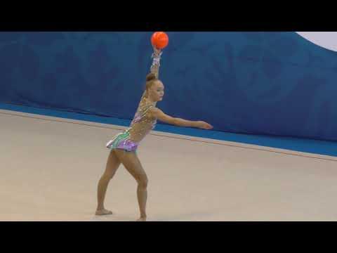 видео: художественная гимнастика - Уральские самоцветы 2019