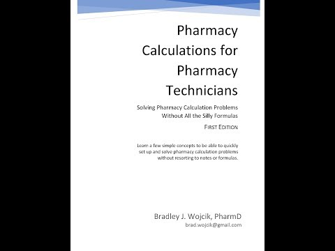 Pharmacy Calculations for Technicians-The Book