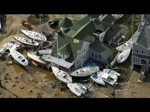 Most Dramatic Footage Of Superstorm Sandy