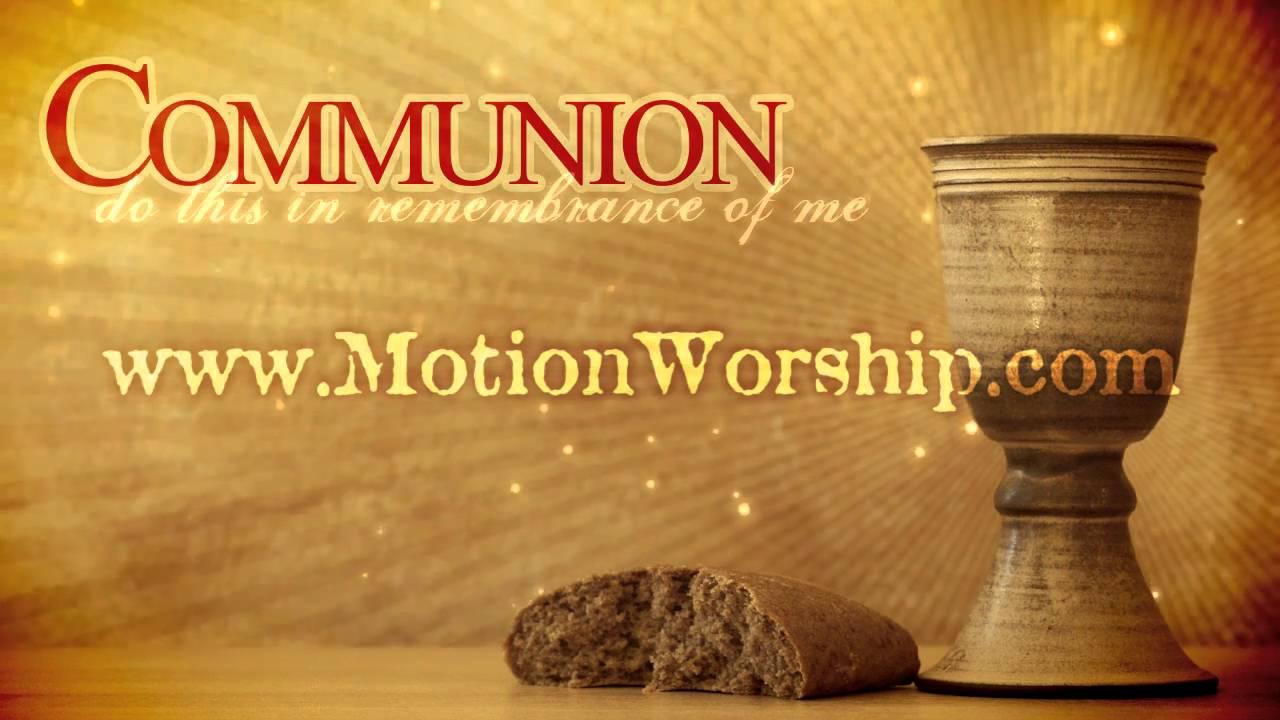 communion wine bread hd worship motion background