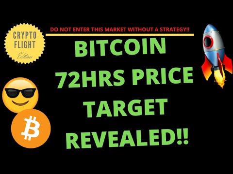 BITCOIN 72HR PRICE TARGET REVEALED!! | PRICE PREDICTION | TECHNICAL ANALYSIS$ BTCUSD