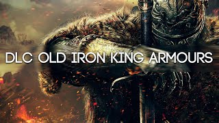 Dark Souls 2 DLC Crown of the Old Iron King Armour Sets