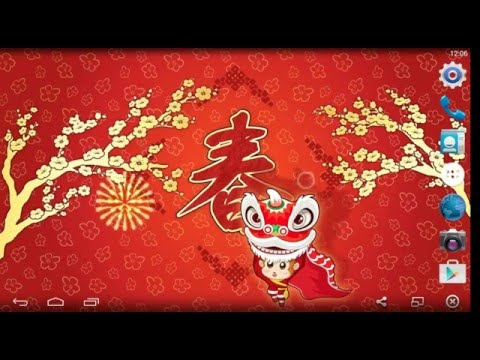 chinese new year live wallpaper