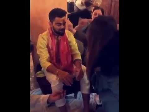 Virat haldi ceremony full Punjabi wedding