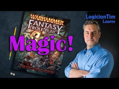 Warhammer Fantasy RPG - Magic!