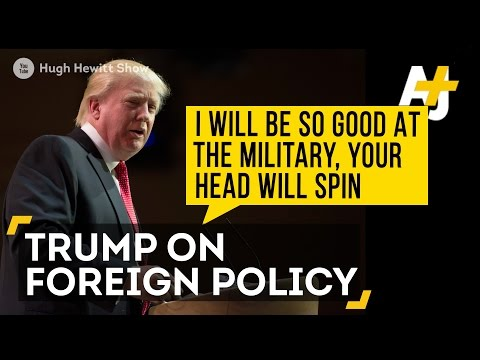 Donald Trump Fails Foreign-Policy Quiz