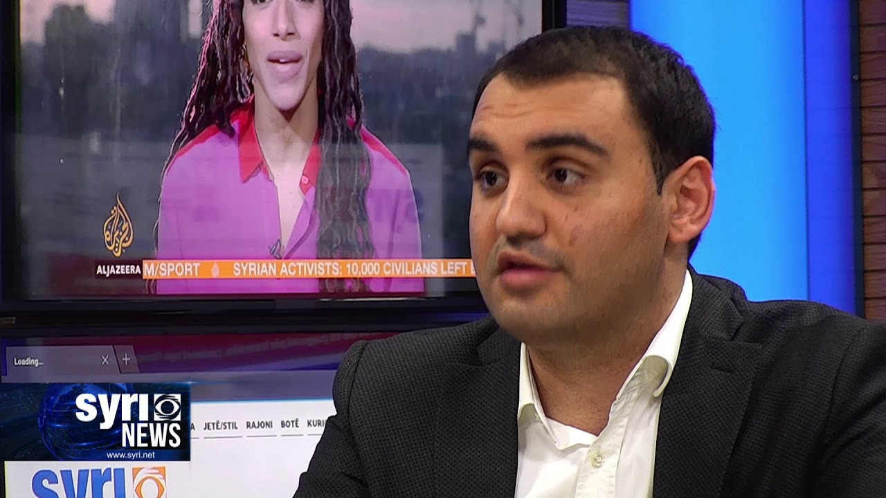 Intervista ne Syri Net i ftuar ne studio Belind Kellici
