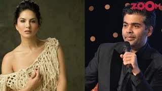 Sunny Leone reacts on Karan Johar's comment against item numbers in Bollywood