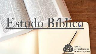 """Estudo Bíblico -  Rev. Gediael Menezes - 03/02/2021 """"Qual o sentido da vida? """" Eclesiastes 1"""