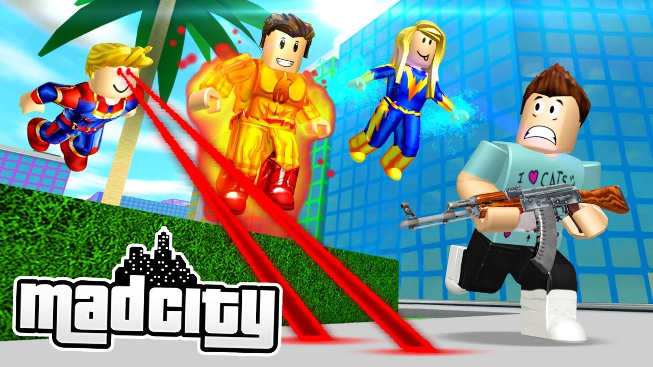 Creator Of Mad City Roblox Roblox Mad City Youtube