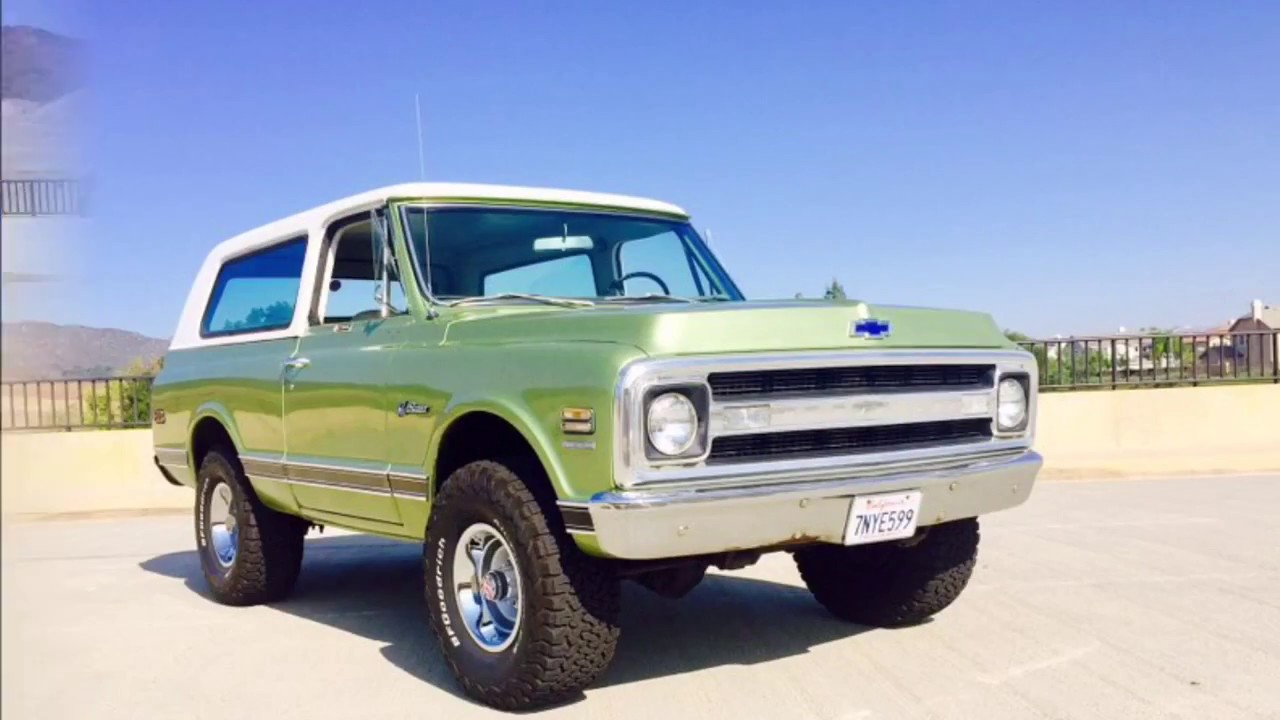 1970 Chevy Blazer K5 Sold Camperblazer Youtube