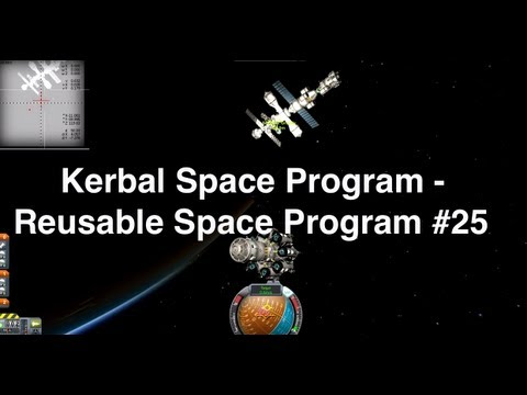 Kerbal Space Program - Reusable Space Program 25 - Building The Exploration Ship