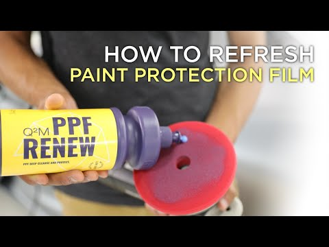 How to polish paint protection film? PPF Renew by Gyeon.