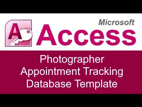 tracking database template