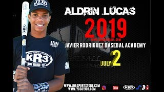Aldrin Lucas C 2019 Class From (Javier Rodriguez BAseball Academy)  Date video: 23.07.2018